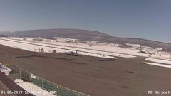 view from Mifflin County Airport (west) on 2019-01-28