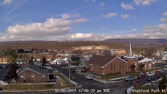 view from Highland Park Hose Co. #1 on 2019-02-05