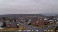 view from Highland Park Hose Co. #1 on 2019-02-06