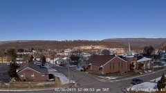 view from Highland Park Hose Co. #1 on 2019-02-16