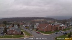 view from Highland Park Hose Co. #1 on 2019-04-12