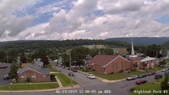 view from Highland Park Hose Co. #1 on 2019-06-19
