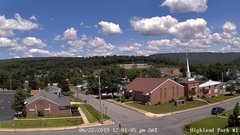 view from Highland Park Hose Co. #1 on 2019-06-22