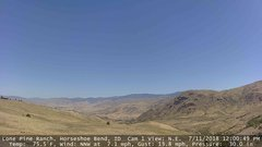 view from Horseshoe Bend, Idaho CAM1 on 2018-07-11