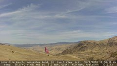 view from Horseshoe Bend, Idaho CAM1 on 2018-09-21