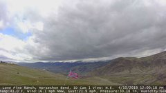 view from Horseshoe Bend, Idaho CAM1 on 2019-04-10