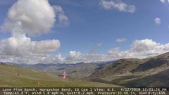 view from Horseshoe Bend, Idaho CAM1 on 2019-04-12