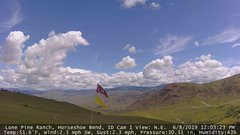 view from Horseshoe Bend, Idaho CAM1 on 2019-06-08
