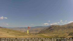 view from Horseshoe Bend, Idaho CAM1 on 2019-08-12