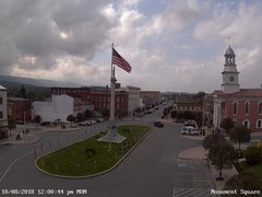 view from 13 East Market Street - Lewistown PA (west) on 2018-10-08