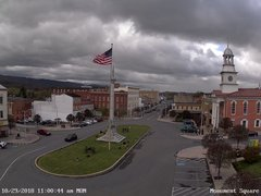 view from 13 East Market Street - Lewistown PA (west) on 2018-10-29