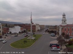 view from 13 East Market Street - Lewistown PA (west) on 2018-11-01