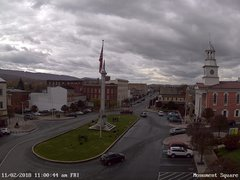 view from 13 East Market Street - Lewistown PA (west) on 2018-11-02