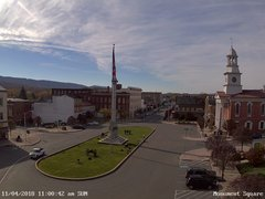 view from 13 East Market Street - Lewistown PA (west) on 2018-11-04
