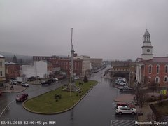 view from 13 East Market Street - Lewistown PA (west) on 2018-12-31