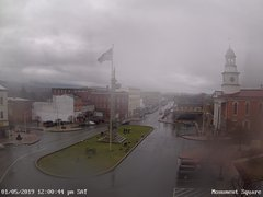 view from 13 East Market Street - Lewistown PA (west) on 2019-01-05