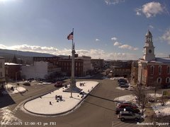 view from 13 East Market Street - Lewistown PA (west) on 2019-01-25