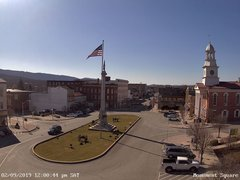 view from 13 East Market Street - Lewistown PA (west) on 2019-02-09