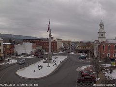 view from 13 East Market Street - Lewistown PA (west) on 2019-02-15