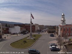 view from 13 East Market Street - Lewistown PA (west) on 2019-04-02