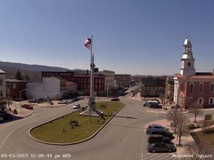 view from 13 East Market Street - Lewistown PA (west) on 2019-04-03