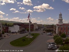 view from 13 East Market Street - Lewistown PA (west) on 2019-05-06