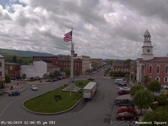 view from 13 East Market Street - Lewistown PA (west) on 2019-05-10