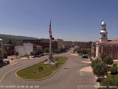 view from 13 East Market Street - Lewistown PA (west) on 2019-07-13