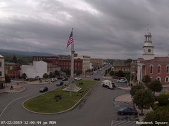 view from 13 East Market Street - Lewistown PA (west) on 2019-07-22