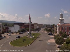 view from 13 East Market Street - Lewistown PA (west) on 2019-07-30