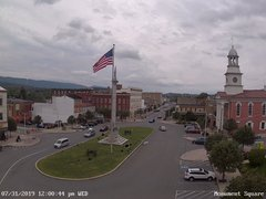 view from 13 East Market Street - Lewistown PA (west) on 2019-07-31