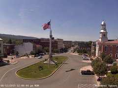 view from 13 East Market Street - Lewistown PA (west) on 2019-08-12