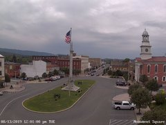 view from 13 East Market Street - Lewistown PA (west) on 2019-08-13