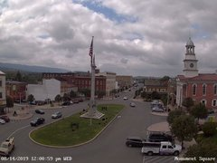 view from 13 East Market Street - Lewistown PA (west) on 2019-08-14
