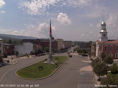 view from 13 East Market Street - Lewistown PA (west) on 2019-08-17