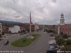 view from 13 East Market Street - Lewistown PA (west) on 2019-08-23