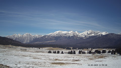 view from Pian Cansiglio - Casera Le Rotte on 2019-03-21
