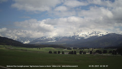 view from Pian Cansiglio - Casera Le Rotte on 2019-05-10