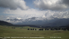 view from Pian Cansiglio - Casera Le Rotte on 2019-07-12