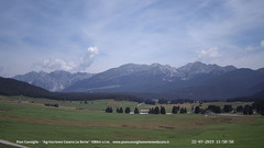 view from Pian Cansiglio - Casera Le Rotte on 2019-07-22