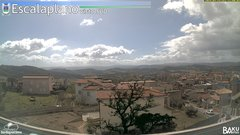 view from Escalaplano on 2019-03-14