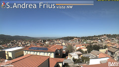 view from Sant'Andrea Frius on 2019-03-17