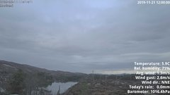 view from 1 Sotra island, W-Norway on 2019-11-21