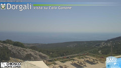 view from Monte Longu on 2020-07-29