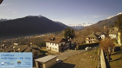 view from Valle Vigezzo on 2020-01-22