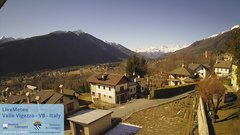 view from Valle Vigezzo on 2020-02-14