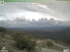 view from Villasalto on 2020-05-19