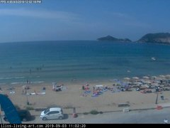 view from Agios Georgios NW Corfu Greece on 2019-09-03
