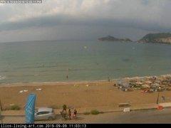 view from Agios Georgios NW Corfu Greece on 2019-09-09