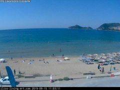 view from Agios Georgios NW Corfu Greece on 2019-09-15
